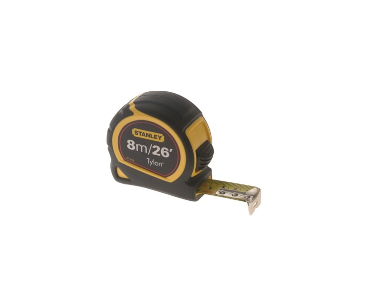 78-0701 – Stanley 8M Tape Measure (25mm Blade)
