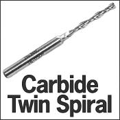 Carbide Twin Spiral